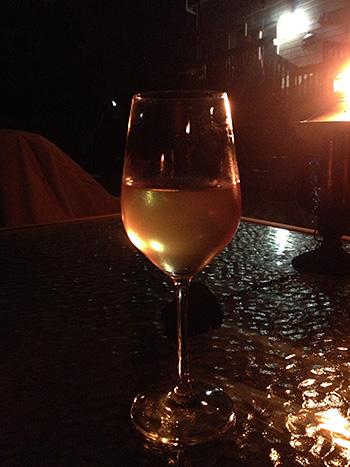 Cloudy wine