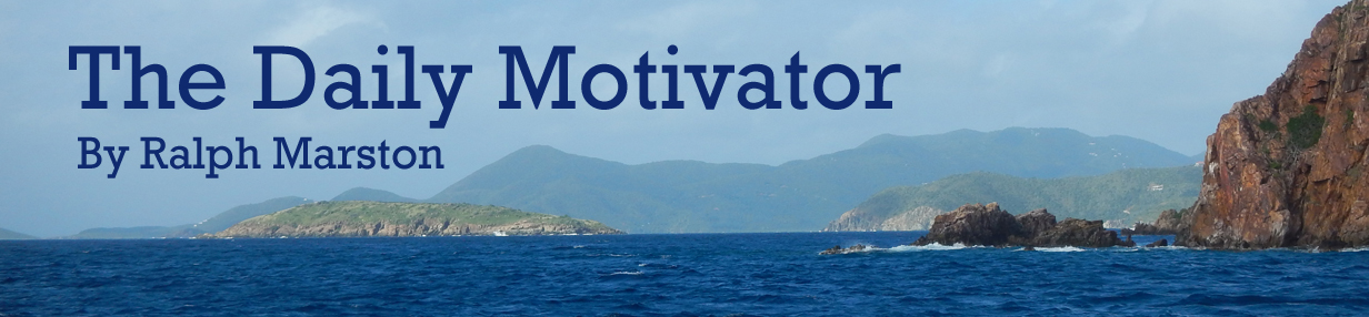 The Daily Motivator Positive Territory
